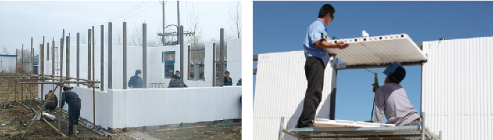 按建筑模数,节能标准,建筑构造,结构体系和施工工艺的需求,通过专用设